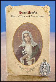 Saint Agatha: Breast Cancer
